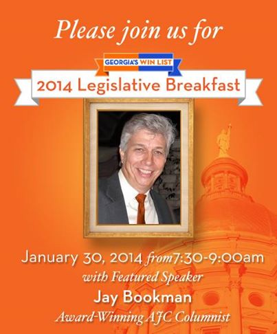 2014 Legislative Breakfast with Jay Bookman