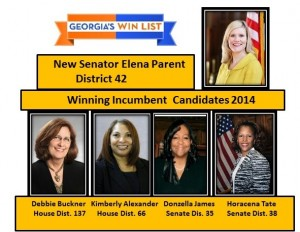 Newly endorsed legislative candidates 2014