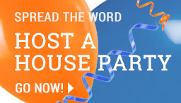 HOST A HOUSE PARTY