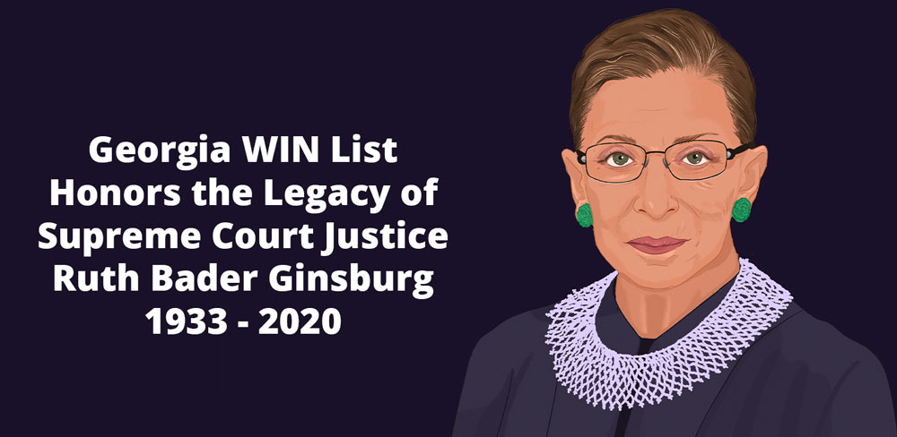 We Honor the Legacy of Justice Ruth Bader Ginsburg